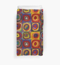 Wassily Kandinsky, Colour Study: Squares with Concentric Circles  Duvet Cover