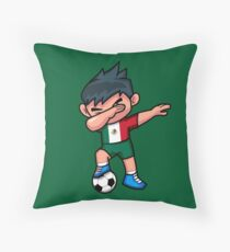 Soccer Boy Dabbing Mexico Floor Pillow