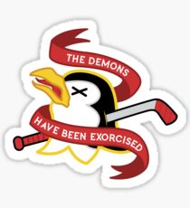 The Demons Have Been Exorcised Sticker