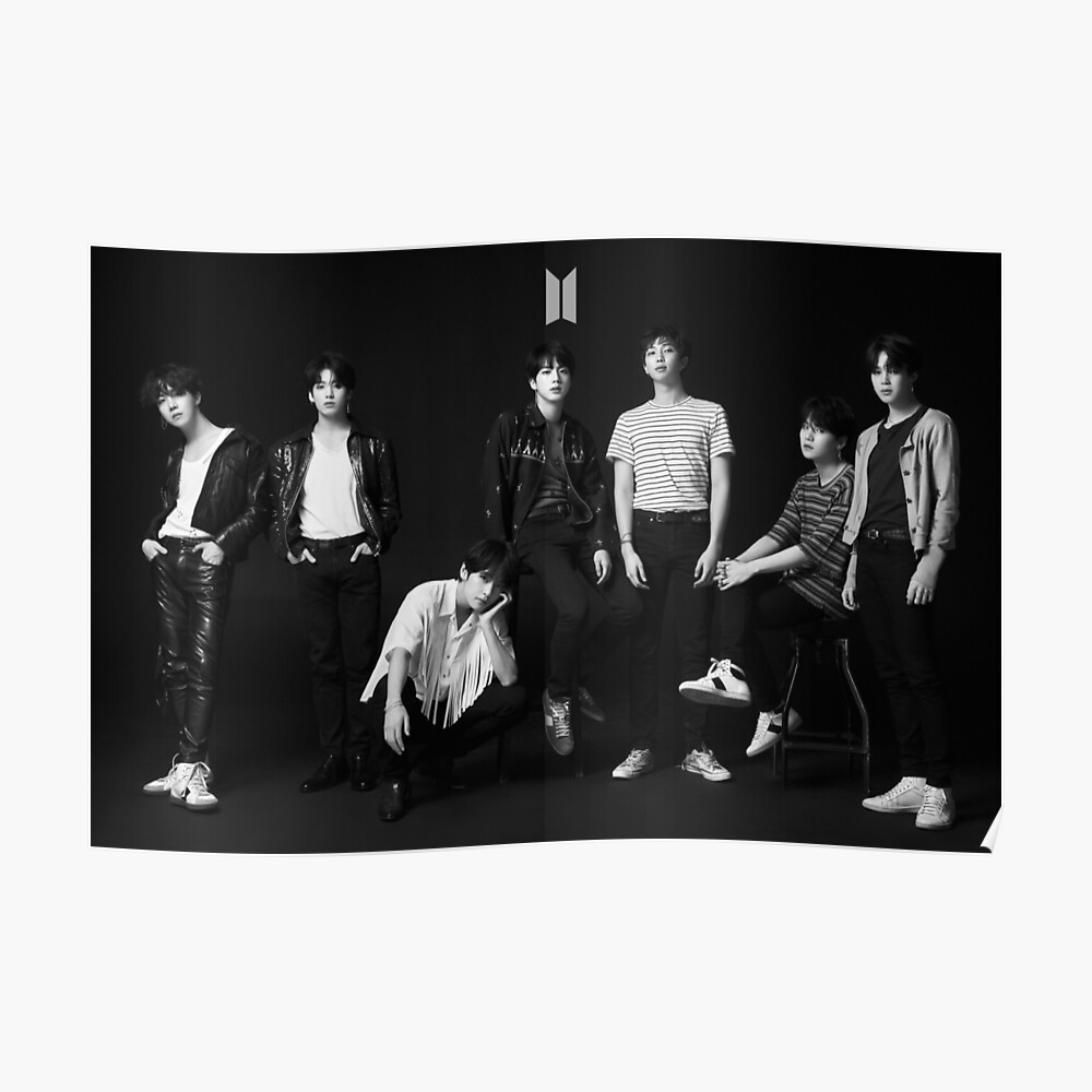 BTS Love Yourself Tear Comeback Poster