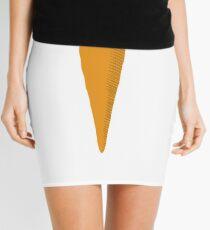 Carrot graphic art image Mini Skirt