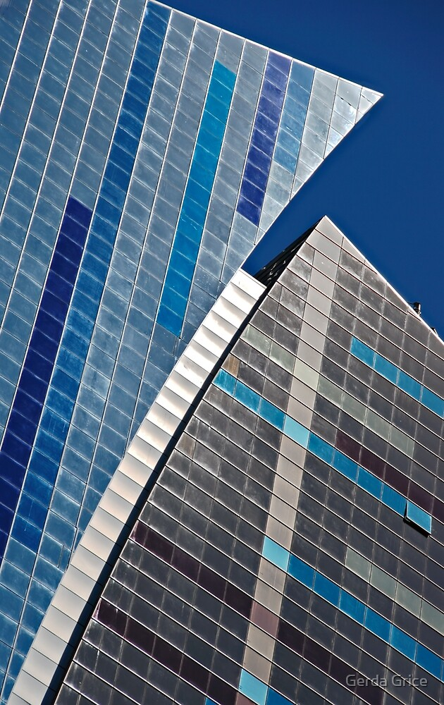 New York City Colours and Curves by Gerda Grice