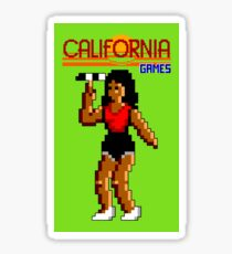 CALIFORNIA GAMES - FLYING DISC - MASTER SYSTEM Sticker