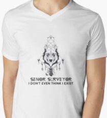 SENIOR SURVEYOR Men's V-Neck T-Shirt