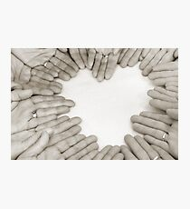 Hands: Love Photographic Print
