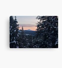 Mount McLoughlin, Crater Lake National Park, Oregon Canvas Print