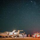 RFDS Evac Under a Starry Southern Sky - Tjuntjuntjara, Great Victoria Desert, WA - Take 2 by Liam Byrne
