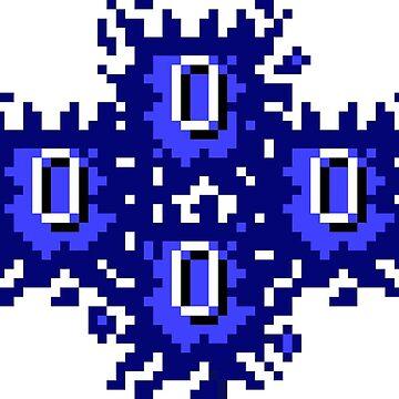 Oldschool Runescape Quad Zero (0) Hitsplat by nottheclock