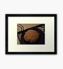 Whole Wheat Rotis Framed Print