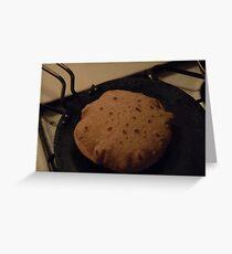 Whole Wheat Rotis Greeting Card