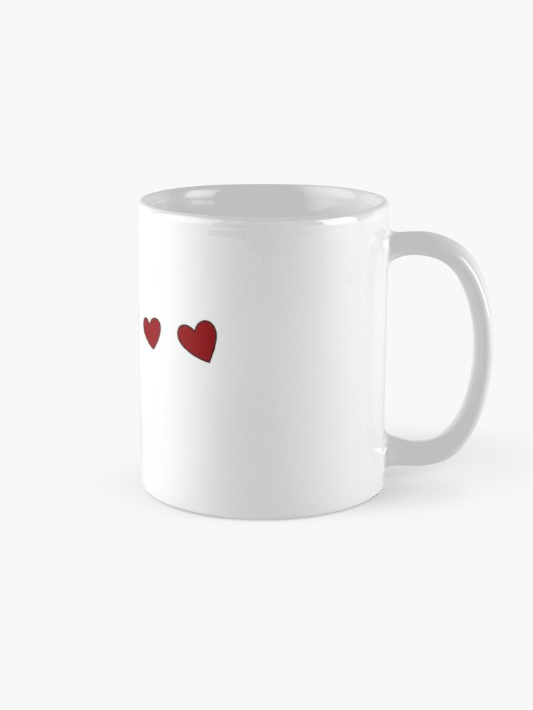 Alternate view of John Hearts Mug