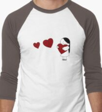 Catana Hearts Men's Baseball ¾ T-Shirt