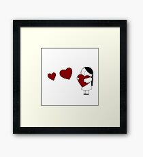 Catana Hearts Framed Print