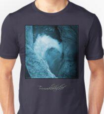 Trümmelbachfälle: cyan 3 (T-Shirt) Unisex T-Shirt