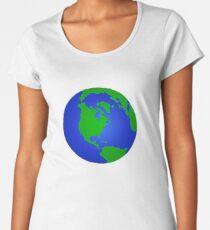 Planet Earth Earth Women's Premium T-Shirt