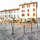 Buildings of Arona by Giuseppe Cocco