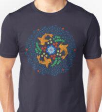 Blue Koi Pond Unisex T-Shirt