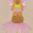 Fairy Bear on Flower  by Paula Parker