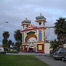 Just for fun Luna Park entrance by Virginia McGowan