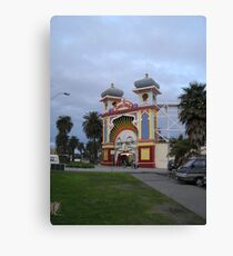 Just for fun Luna Park entrance Canvas Print