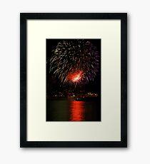 Recco - Fireworks Festival Framed Print