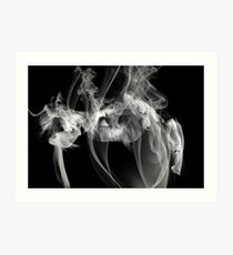 Fantasies In Smoke IIV Art Print