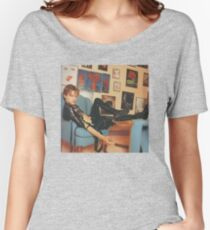 Leonardo DiCaprio - Black Leather Women's Relaxed Fit T-Shirt