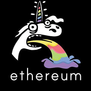 Ethereum Rainbow Unicorn by fuseleven