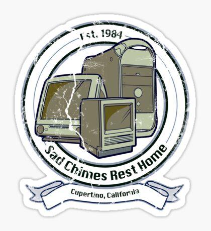 Sad Chimes Rest Home Sticker