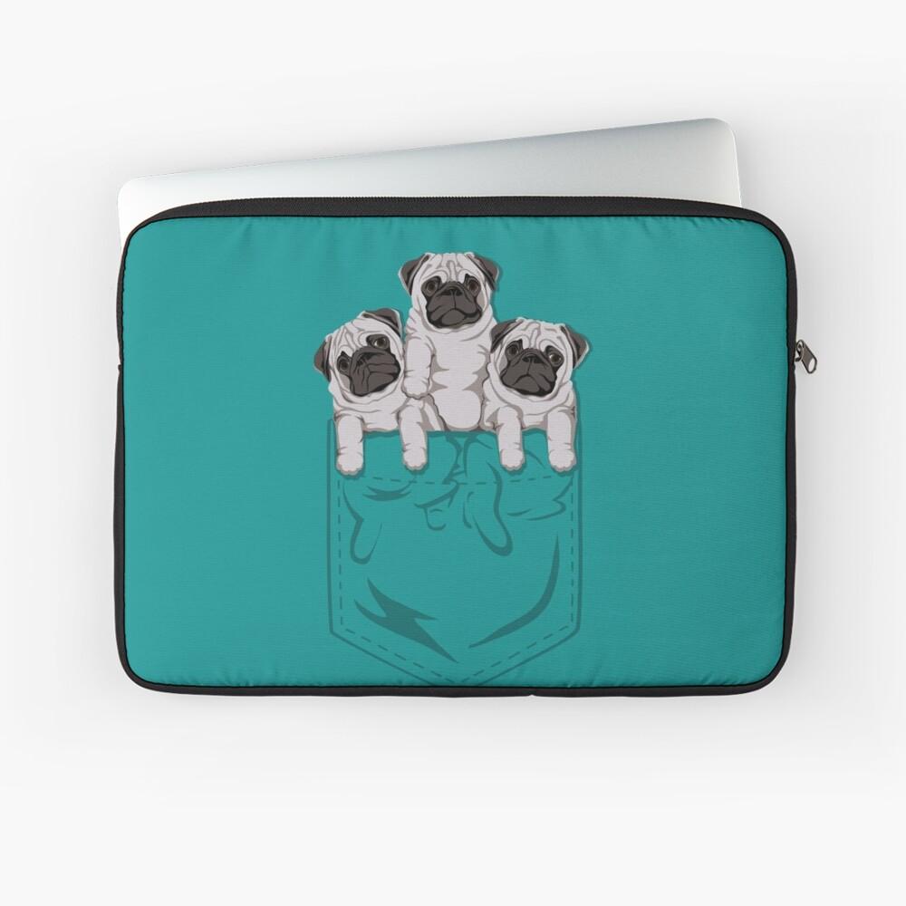 Pocket Pug Funda para portátil