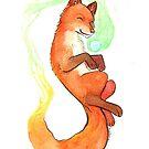 « Feu de renard » par Valériane Duvivier