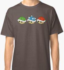 Camiseta clásica Mario Kart Items- Conchas