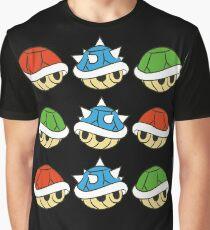 Mario Kart Items- Shells Graphic T-Shirt