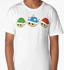 Mario Kart Items- Shells Long T-Shirt