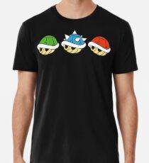 Mario Kart Items - Muscheln Premium T-Shirt