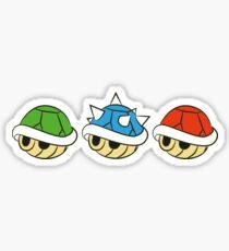 Mario Kart Items- Shells Sticker