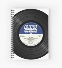 BBC Radiophonic Workshop Record - Doctor Who Single Spiral Notebook