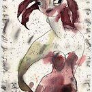 Two Broken Feet No. 3 by ReBecca Gozion