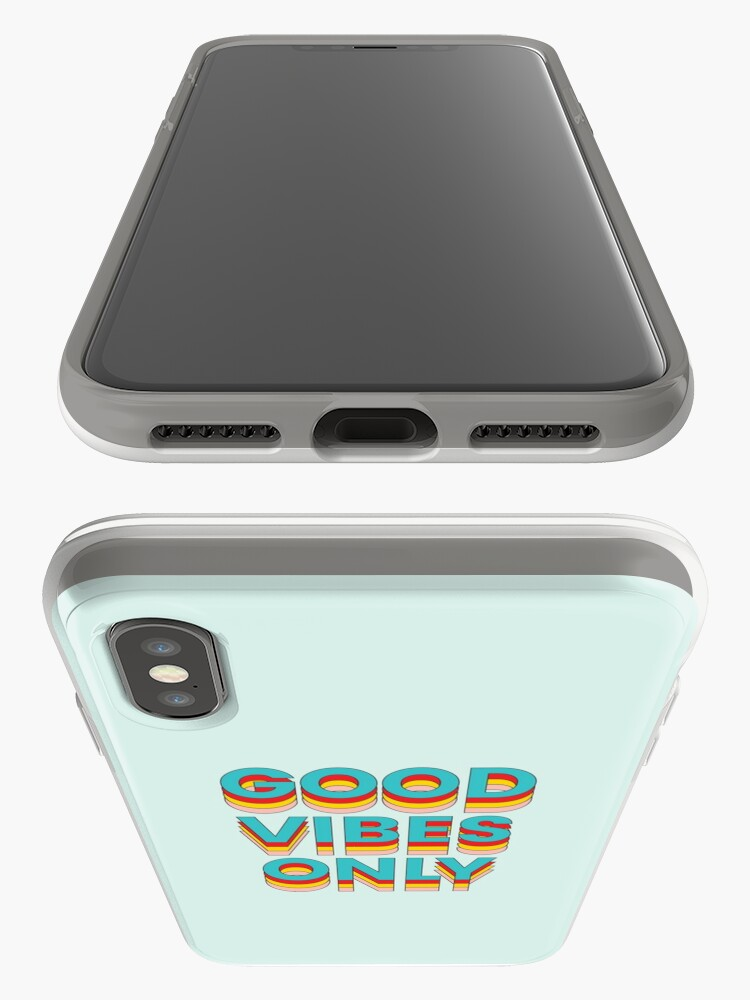 Alternate view of Good Vibes Only iPhone Case & Cover
