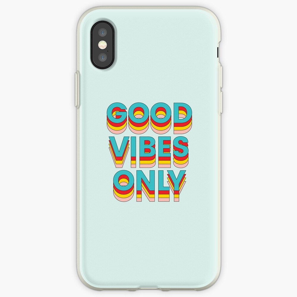 Good Vibes Only iPhone Case & Cover