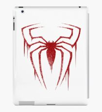 Spider Symbol (Red Version) iPad Case/Skin