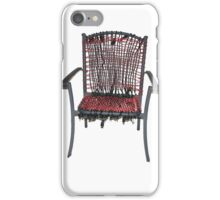 electric chair iPhone Case/Skin