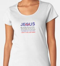 Air Jesus Women's Premium T-Shirt