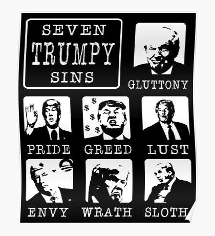 Seven Trumpy Sins Poster