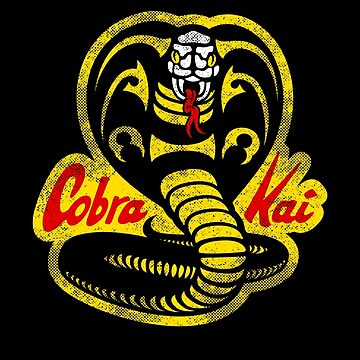 Cobra Kai original logo - faded by GEEKsomniac