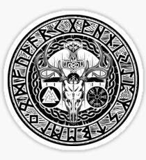 The Norse Shield Sticker
