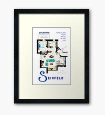 Seinfeld Apartment - Updated Framed Print