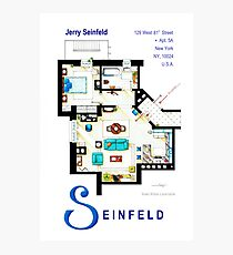 Seinfeld Apartment - Updated Photographic Print