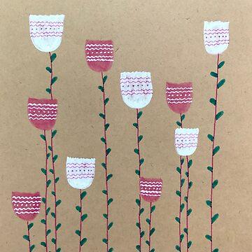 Tulips by ranjaniart
