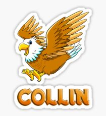 Collin Eagle Sticker Sticker